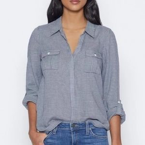 Joie Booker Top in Light Blue